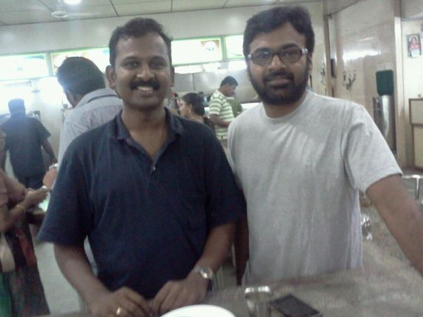 Myself with Karu. Palaniappan