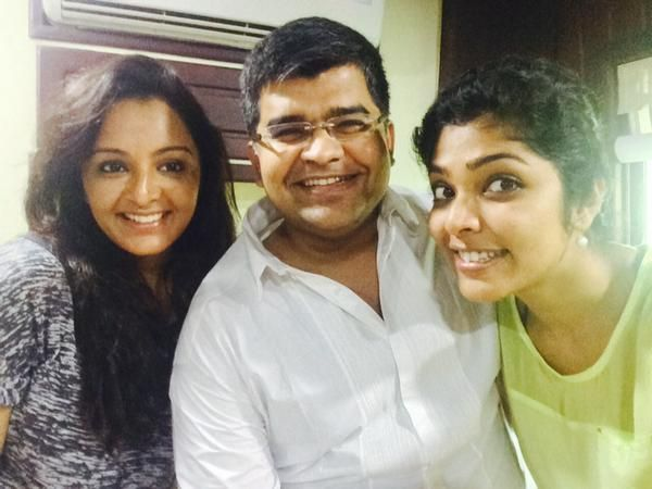 Aashiq Abu, Manju Warrier and Rima Kallingal