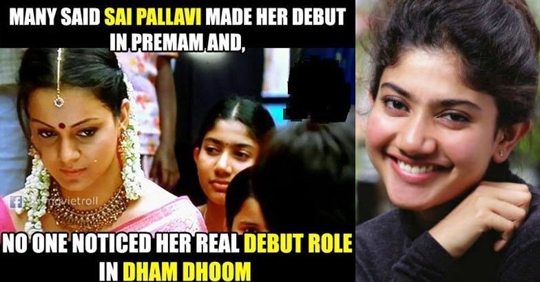 Sai Pallavi in Dhaam Dhoom